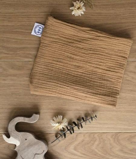 foulard-bébé-made-in-france-camel