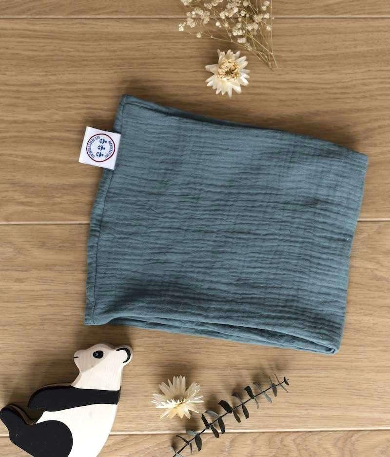 foulard-bébé-made-in-france-eucalyptus