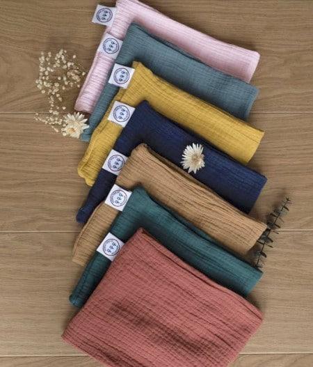 foulard-bébé-colorama-rose