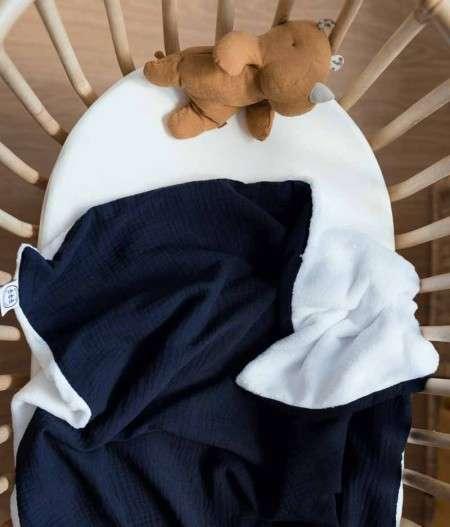 Couverture-bébé-bleu-nuit