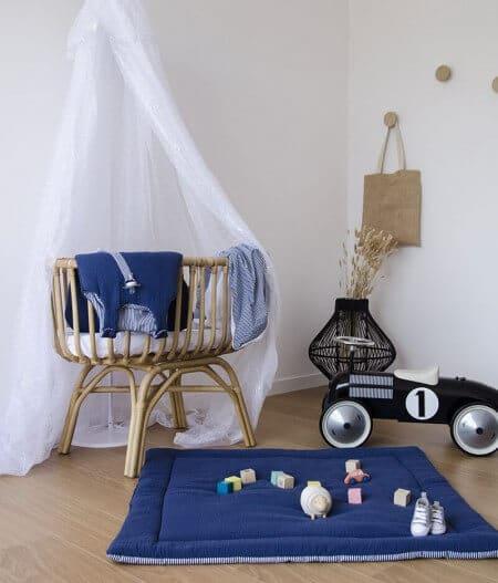 tapis de jeu bébé personnalisé made in france - cocorico