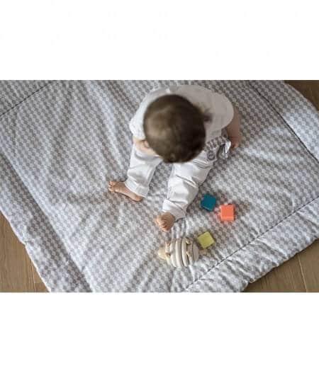 tapis de jeu bébé personnalisé made in france avec bébé - barrière de corail