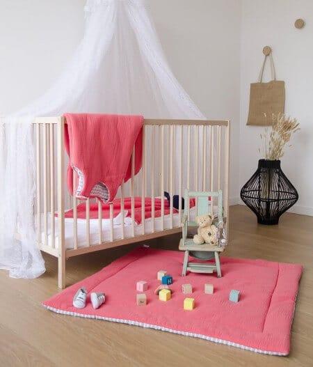 tapis de jeu bébé personnalisé made in france coté - barrière de corail