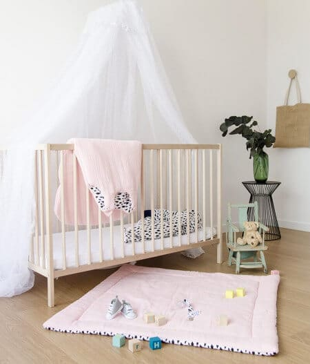 tapis de jeu bébé personnalisé made in france - dans les nuages