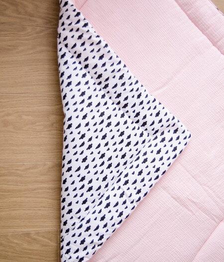 tapis de jeu bébé personnalisé made in france ensemble - dans les nuages
