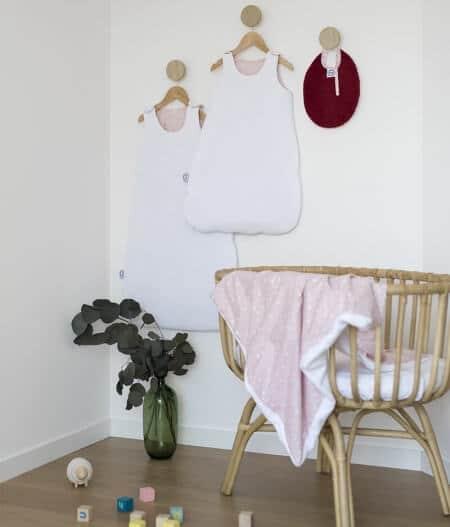 Bavoir bébé personnalisé made in france avec gigoteuse - jusqu'aux étoiles