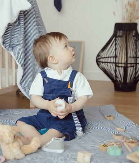 couverture plaid bébé made in france personnalisée bébé - cocorico