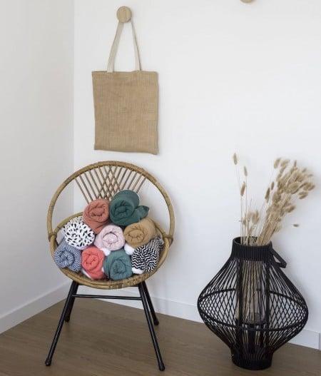 couverture-bébé-chaise-ours-brun