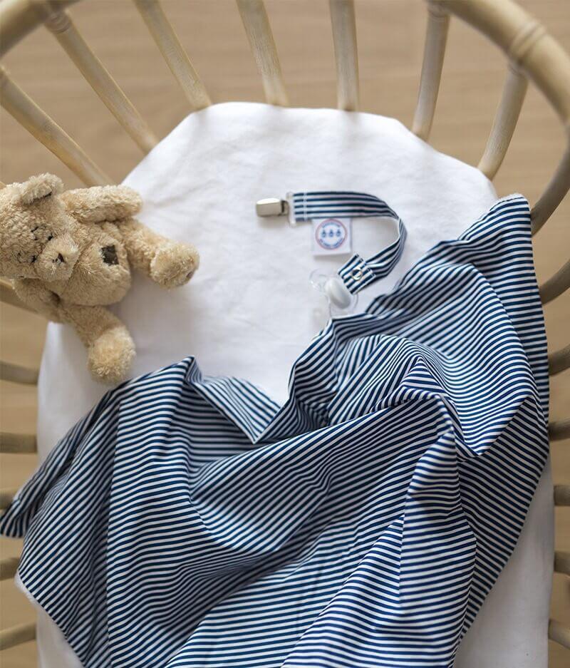 couverture plaid bébé made in france personnalisée - cocorico