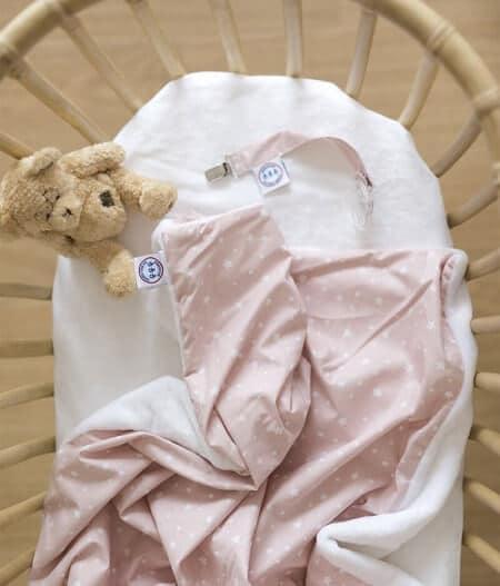 couverture plaid bébé made in france personnalisée - jusqu'aux étoiles