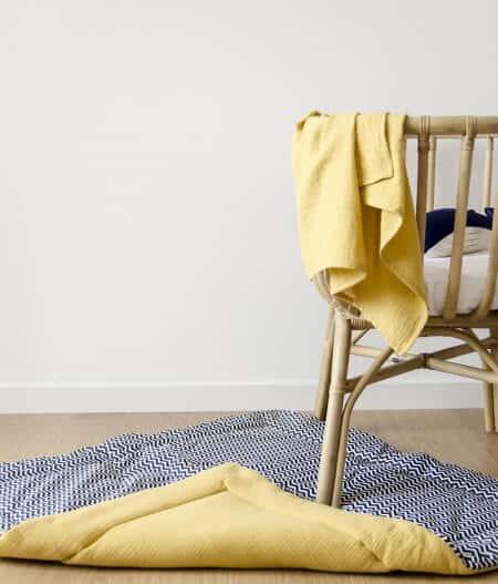 lange maxi lange bébé made in france tapis - Colonel moutarde