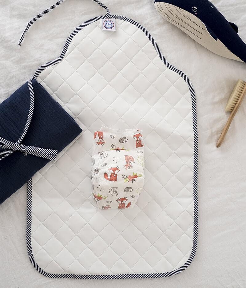 tapis à langer bébé nomade made in france - Cocorico