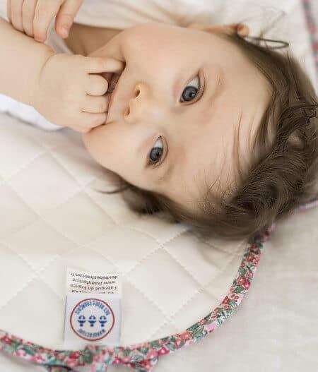 tapis à langer bébé nomade made in france bébé - barrière de corail