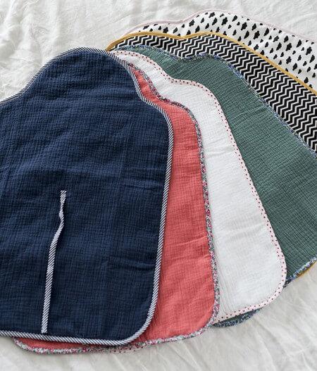 tapis à langer bébé nomade made in france - la collection - jusqu'aux étoiles