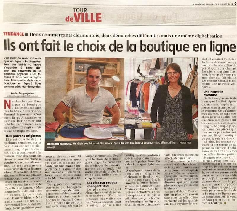 Photo manufacture des bébés français journal la montagne
