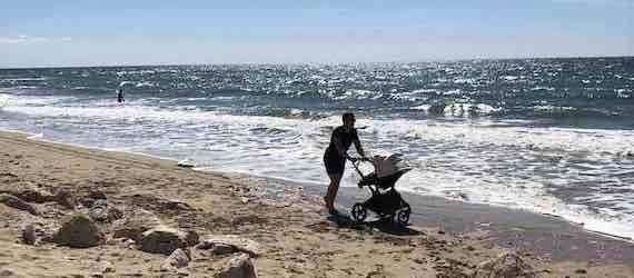 Les premières vacances avec bébé